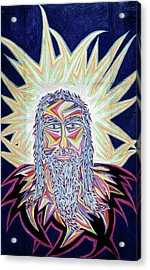 Jesus Year 2000 Acrylic Print by Robert SORENSEN