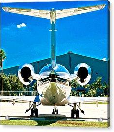 Jet In The Sun Acrylic Print