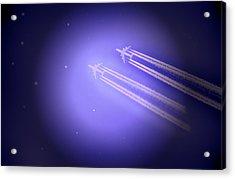 Jet Race Acrylic Print