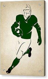 Jets Shadow Player Acrylic Print