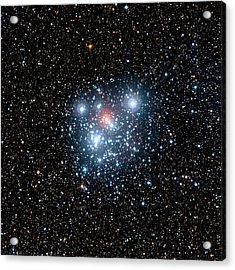 Jewel Box Star Cluster Acrylic Print by European Southern Observatory