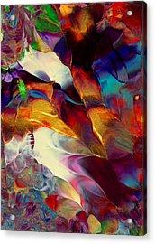 Jewel Island Acrylic Print by Nan Bilden