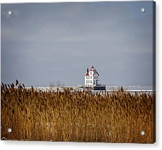 jewel of the Port Lorain Lighthouse Acrylic Print