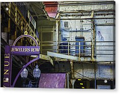Jewelers Row Acrylic Print by Raymond Kunst