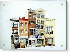 Jeweler's Row Acrylic Print