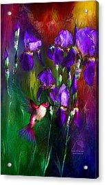 Jewels Of Summer Acrylic Print by Carol Cavalaris