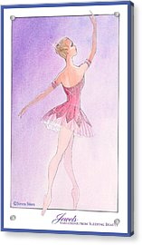 Jewels Tutu Pink Acrylic Print