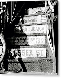 Jewish New York Acrylic Print