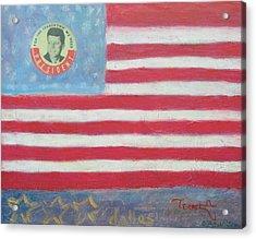Jfk Americana Acrylic Print by Jay Kyle Petersen