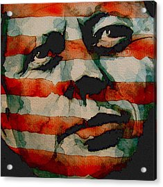 JFK Acrylic Print by Paul Lovering
