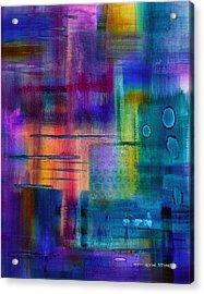 Jibe Joist II Acrylic Print by Moon Stumpp