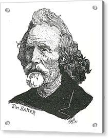 Jim Baker Acrylic Print