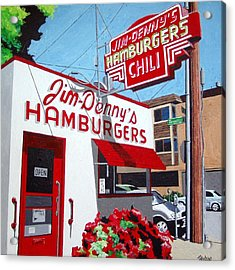Jim-dennys No. 4 Acrylic Print by Paul Guyer