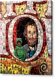 Jim Henson Acrylic Print