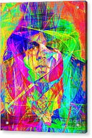 Jim Morrison 20130613 Acrylic Print by Wingsdomain Art and Photography