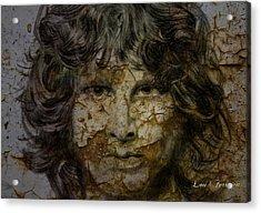 Jim Morrison Acrylic Print by Louis Ferreira