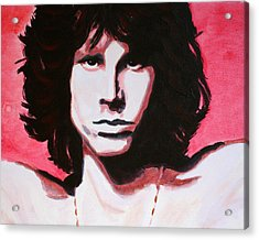 Jim Morrison Of The Doors Acrylic Print