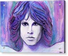 Jim Morrison Acrylic Print