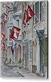 Jim Thorpe Acrylic Print