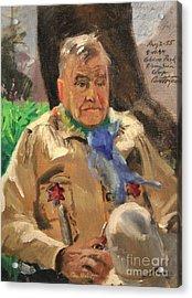 Jim Wilt - Mountain Poet Acrylic Print