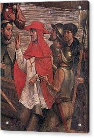 Jimenez De Cisneros (1436-1517) Acrylic Print by Granger