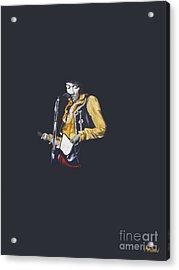Jimi At Monterey 1 Acrylic Print
