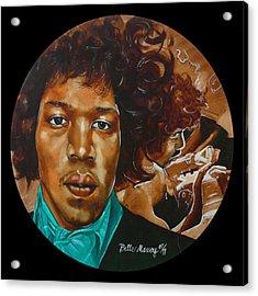 Jimi Hendrix B Acrylic Print