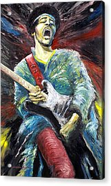 Jimi Hendrix Spanish Castle Magic Acrylic Print