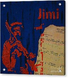 Jimi Acrylic Print