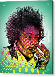 Jimmie Hendrix  Acrylic Print
