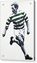 Jimmy Johnstone - Celtic Fc Acrylic Print