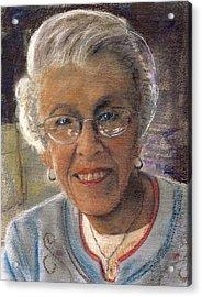 Jim's Mom Lois  Acrylic Print