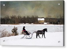 Acrylic Print featuring the photograph Jingle All The Way by Robin-Lee Vieira
