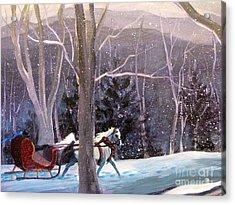Jingle Bells 3 Acrylic Print by Gretchen Allen