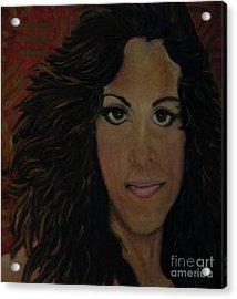 Jo Acrylic Print
