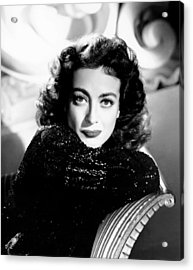 Joan Crawford, Ca. Early 1940s Acrylic Print by Everett