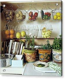Joan Didion's Kitchen Acrylic Print