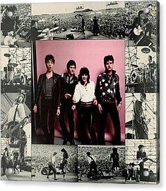 Joan Jett - Album 1983 - Inner Sleeve Acrylic Print by Epic Rights