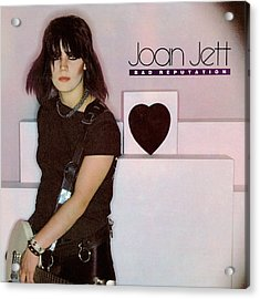 Joan Jett - Bad Reputation 1981 Acrylic Print by Epic Rights