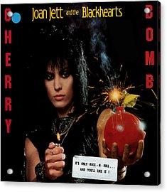 Joan Jett - Cherry Bomb 1984 Acrylic Print by Epic Rights