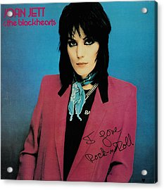 Joan Jett - I Love Rock 'n Roll 1981 Acrylic Print by Epic Rights