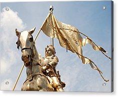 Joan Of Arc Acrylic Print by Pamela Schreckengost