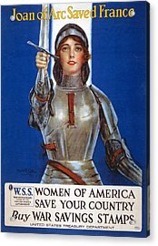 Joan Of Arc Saved France Acrylic Print