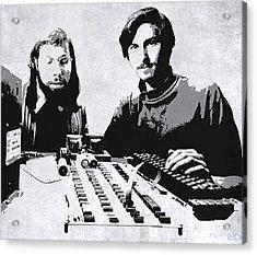 Jobs And Wozniak . . . In The Early Days  Acrylic Print