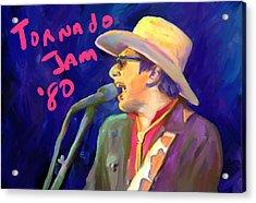 Joe Ely Acrylic Print by G Cannon