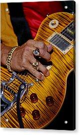 Joe Perry - Aerosmith Acrylic Print by Don Olea