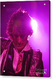 Acrylic Print featuring the photograph Joe Perry Picture by Jeepee Aero