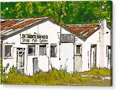 Joe Taranto Seafood Co Acrylic Print
