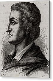 Johann Friedrich Bottger Acrylic Print by Universal History Archive/uig