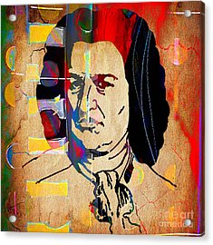 Johann Sebastian Bach Collection Acrylic Print by Marvin Blaine